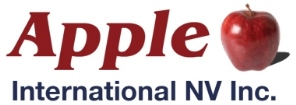 Apple International NV Inc. Logo